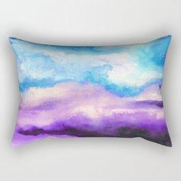 Noche Azul Rectangular Pillow