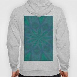 Aurora In Jade and Blue Hoody