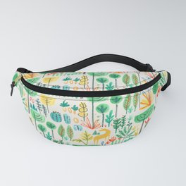 Jungle life with golden unicorn Fanny Pack