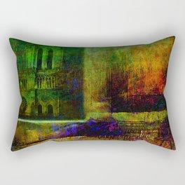 See Notre-Dame-de-Paris since the window Rectangular Pillow