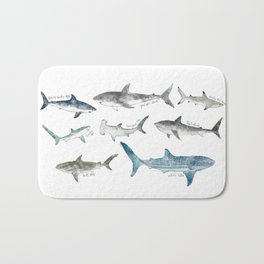 Sharks Bath Mat