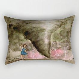 Leaving Kansas Rectangular Pillow