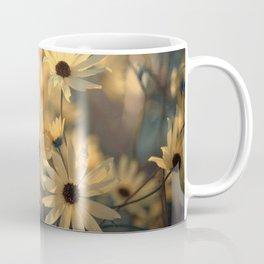 Autumn Botanical Muted Sunflowers Coffee Mug