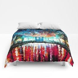 Tardis With Beautiful Starry Night Comforters