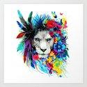 ART---LION by picartsso