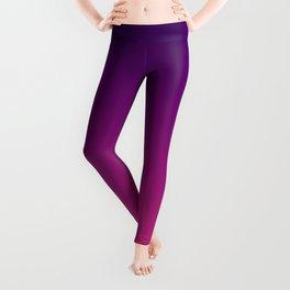 Ombre gradient digital illustration purple red colors Leggings