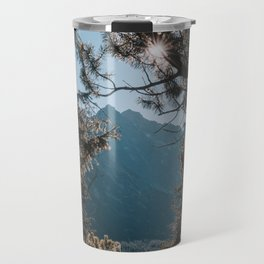On the trail - Landscape and Nature Photography Travel Mug