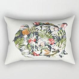 Tropical tiger Rectangular Pillow