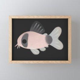Corydoras! - black Framed Mini Art Print