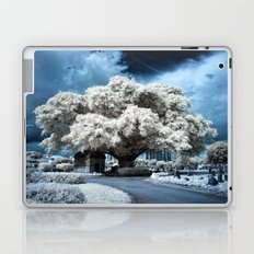 Infrared Blue Laptop & iPad Skin