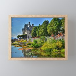 The Biltmore Estate Gardens Framed Mini Art Print