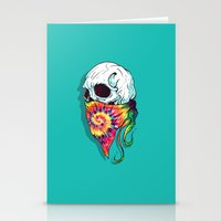 hipster Stationery Cards featuring Hipster by Steven Toang