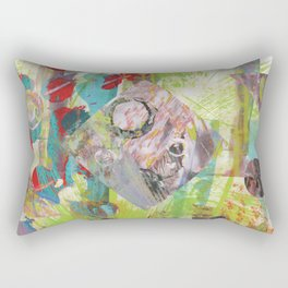 In My Little Room Rectangular Pillow