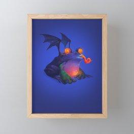 Frog Framed Mini Art Print