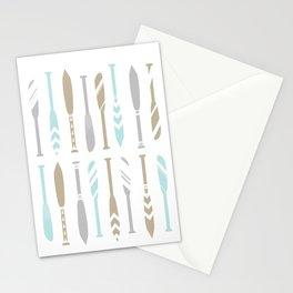 River OAR Ocean Stationery Cards