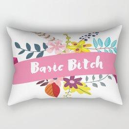 Basic Bitch Rectangular Pillow