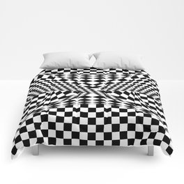 Twisted Checkers Comforters
