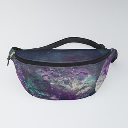 Triple Moon Goddess Universe Fanny Pack