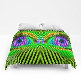 EYE SEE YOU! Psychedelic Eyes Comforters
