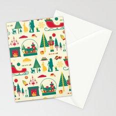 Christmas nutcracker yellow Stationery Cards