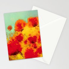 FLOWERS - Poppy time Stationery Cards