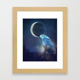 Moongazer Framed Art Print