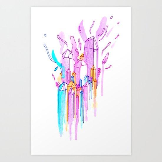 Gamamede Art Print
