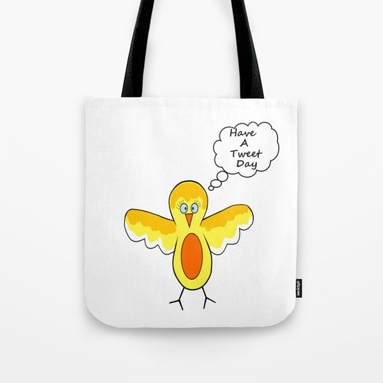 Tweet Day Tote Bag