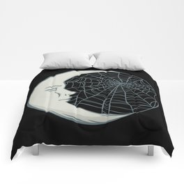 Cobwebs and moonlight Comforters