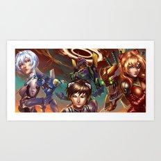 EVA Art Print