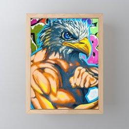 Much America Framed Mini Art Print