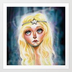 Celeste :: Pretty Little Scamp Art Print