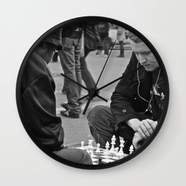 The Showdown (Part 3: NYC) Wall Clock