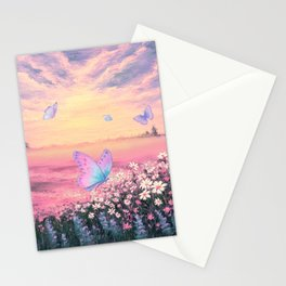 Somewhere Between Earth and Heaven Stationery Cards