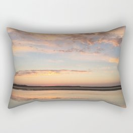 Tillamook Bay, Oregon Sunset Rectangular Pillow