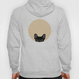 French Bulldog - Black on Tan Hoody