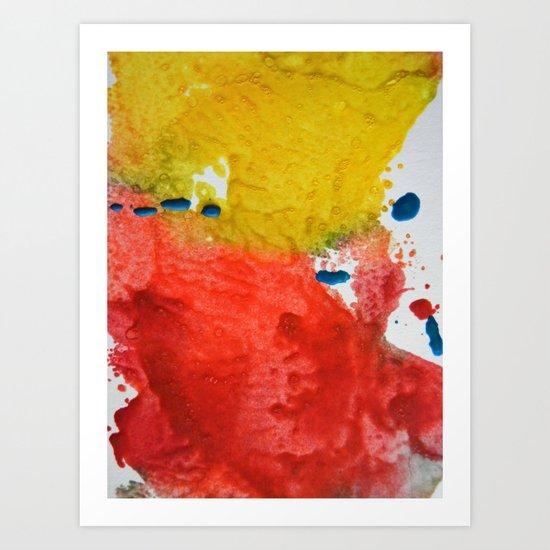Colorfield Art Print