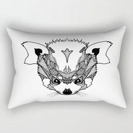 Fierce Red Panda Rectangular Pillow