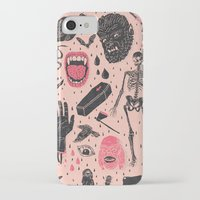 chelsea iPhone & iPod Cases featuring Whole Lotta Horror by Josh Ln
