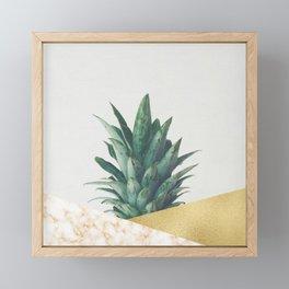 Pineapple Dip VII Framed Mini Art Print