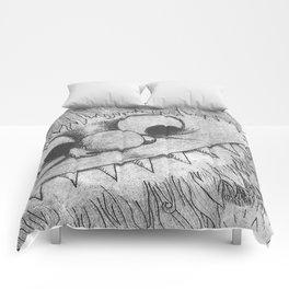 Wild Black Comforters