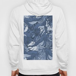 Big Cats in the Night / Cheetahs in Blue Hoody