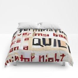 Determination Comforters