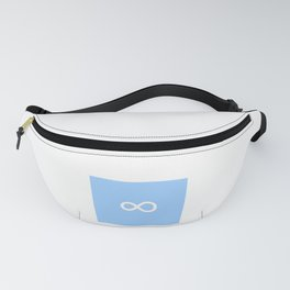 symbol of infinity 2 Fanny Pack