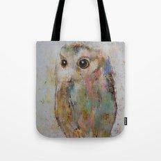 Owl Painting Tote Bag
