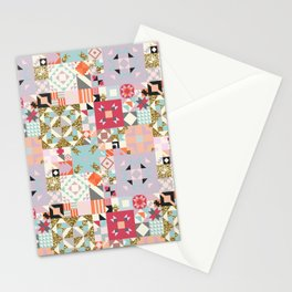 Moroccan Quilt Pattern Stationery Cards
