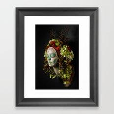 Acorn Harvest Muertita Framed Art Print