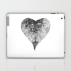 heart b&w Laptop & iPad Skin
