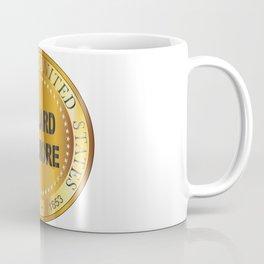 Millard Fillmore Gold Metal Stamp Coffee Mug