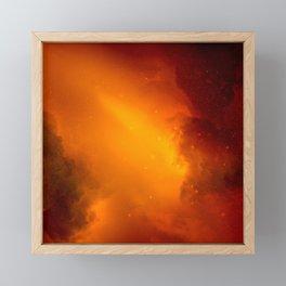 Red Sky At Night, Sailor's Delight Framed Mini Art Print